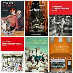 Libros, libros, libros, todos sobre historias de librerías y sus propietarios. Delicia para la mente. Labores y demás