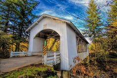 Hannah Covered Bridge near Scio, Oregon