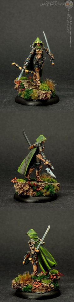 The Internet's largest gallery of painted miniatures, with a large repository of how-to articles on miniature painting Mini Paintings, Cool Paintings, Dungeons And Dragons Miniatures, Tabletop, Minis, Wood Elf, High Elf, Fantasy Miniatures, Warhammer Fantasy