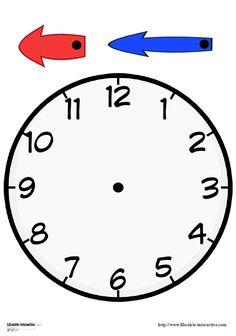 3 horloges � fabriquer pour vos �l�ves.