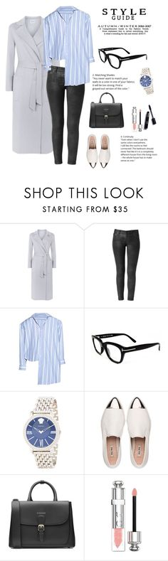"""""""Different!"""" by ieva-galvina ❤ liked on Polyvore featuring Armani Collezioni, Hudson, Vetements, Tom Ford, Versace, Miu Miu, Burberry and Christian Dior"""