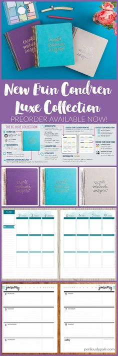 Erin Condren Planner 2017-Adorable! If you need a $10 off referral link, feel free to use mine! Excited for the launch June 1st! https://www.erincondren.com/referral/invite/kyriejoplin1219