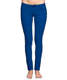Look what I found on #zulily! Royal Blue Jeggings by SoHo #zulilyfinds