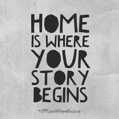 Home is where your story begins | Little Paper Projects #LPPLoveWhereYouLive | Free printable, free download, quotes about home for project life memory keeping