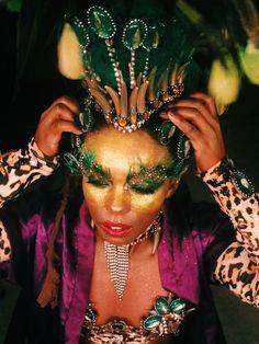 Carnival make up, Rio de Janeiro 2016 #carnavalesca#carnivalmakeup#carnaval#carnival#samba