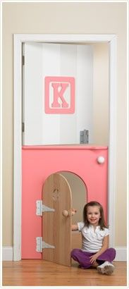 Children's stable door for their bedroom/playroom. Inspiration for www.doodledoors.co.uk