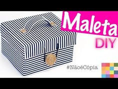 DIY - Caixa Organizadora 5 - YouTube