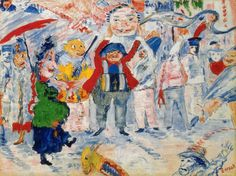 James Ensor >> Carnival in Flanders