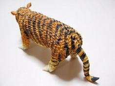 3D+Origami | 3D Origami - Wild Tiger | Origami and PaperCraft – Origami Paper ...