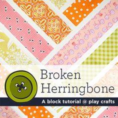 Espiga rota    Un bloque tutorial @ artesanías de juego