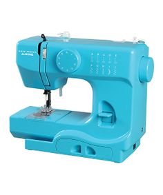 Teal Turbo Sewing Machine