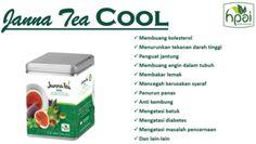 Teh Celup JannaTea Cool HPAI hanya griya herbal azka