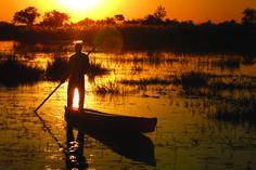 Botswanan sunset ©Under One Botswana Sky