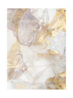 Art/wall Decor - Soft Shimmer No. 2 is a gold and silver painting created by Julia Contacessi in This is a series of work that explores the fluidity and reflective light . Wall Art Decor, Wall Art Prints, Gold Wall Decor, Art Graphique, Custom Art, Oeuvre D'art, Canvas Frame, Illustration, Vintage World Maps