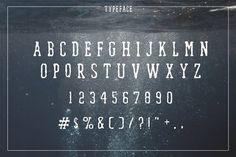Waterfall. Handcrafted Font (+bonus) - Serif