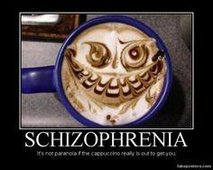 Schizophrenia - Demotivational Poster