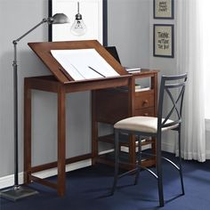 List Of 15 Best Drawing Table And Art Desks DesignWithRed. 10 Best Drawing Desk Drafting Art Table For Artists. Home and furniture ideas is here Vintage Drafting Table, Table Vintage, Counter Height Desk, Table Height, Drawing Desk, Drawing Tables, Woodworking Desk, Woodworking Classes, Woodworking Videos