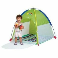 Pacific Play Tents Baby Suite Deluxe Nursery Tent w/1.5u201d Pad - Green  sc 1 st  Pinterest & Beach Tents for Babies u2013 Tents For Tiny Travellers | Baby Rio ...