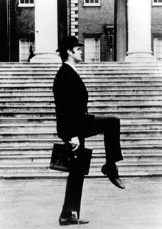 John Cleese - Ministry of Silly Walks.... this is what we learned in Gait with good ol' Ed Shrank!!