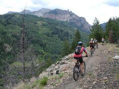 Galloping Goose Mountain Bike Trail in Telluride, Colorado ...