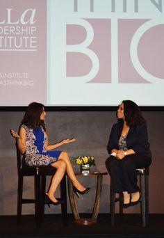 """We are ambicultural. 100% Latina, 100% American."" Monica Gil, Nielsen's ""Latina Power Shift."" #LatinasThinkBig"