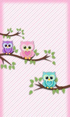 Image via We Heart It https://weheartit.com/entry/169328459 #owls #wallpaper #fondos #buhos