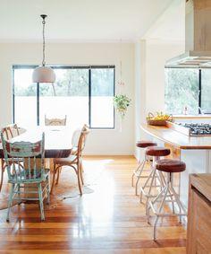 Elevated Eating: 30 Kitchen Island Breakfast Bar Ideas