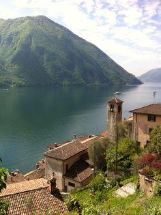 Gandria, near Lugano, Italy.