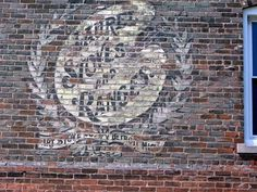 Image result for paint brick wall old ad