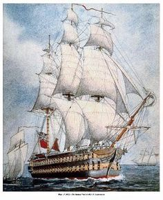 Sir George Lucas Yeo's HMS St. Lawrence
