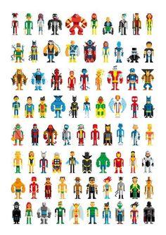 sandylandya@outlook.es  Pixel Heroes