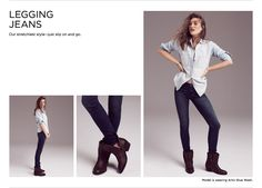 Introduucing your new favorite jeans. Cool, comfy and crazy-flattering�all thanks to the extraordinary new denim we discovered.