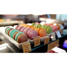 Check out our award winning macaroon at old firehall confectionery:) #OFC #oldfirehallconfectionery