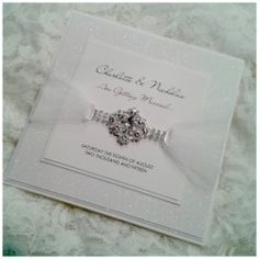 Shine Bright like a Diamond Laser Cut Wedding Invitations, Wedding Stationary, Wedding Accessories, Wedding Styles, Wedding Inspiration, Crystals, Glamour, Elegant, Diamond