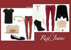 Sevgililer Günü İçin Kırmızı Jeanler! http://jwlove.co/9v