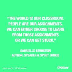 Gabrielle Bernstein, Author, Speaker & Spirit Junkie