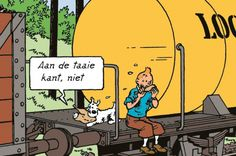 There's eat and run, and then there's run and eat || Tintin exhibition pulls into Train World | The Bulletin