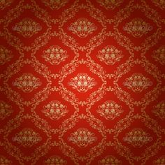 Damask Seamless Floral Pattern  #GraphicRiver         Damask seamless floral pattern. Royal wallpaper. Floral ornaments on a red background. Vector eps10 illustration is fully editable. File contain transparency, radial gradient.     Created: 17March13 GraphicsFilesIncluded: JPGImage #VectorEPS Layered: No MinimumAdobeCSVersion: CS Tags: antique #arabesque #art #background #brocade #classic #classy #damask #decor #design #elegant #fabric #fashion #floral #flower #gold #leaf #luxury #old…