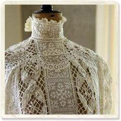 bobbin lace blouse