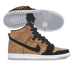 "the latest 2a1ad f6c6c Nike SB Dunk High ""Cork"" Nike Trainers, Sneakers Nike, Nike Dunks,"