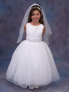 """Image detail for -Helene Communion Dress - """"CHELSEA"""" Full Length First Holy Communion ..."""