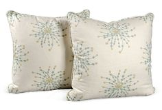 Ferrick Mason Pillows, Pair III