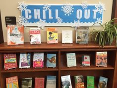 Chill Out - Dec. 2014, with books on stress relief for teens