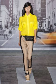 DKNY Spring 2013 Ready-to-Wear Runway Collection