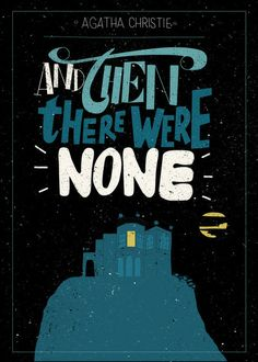 Agatha Christie - AND THEN THERE WERE NONE - Readymade book cover