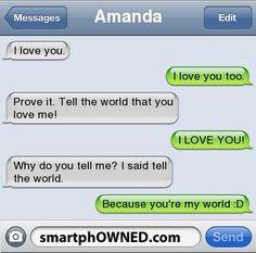 love texts - Buscar con Google