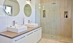 Walk in shower? Move shower head to other wall? Bathroom Inspiration, Bathroom Ideas, Contemporary Style Bathrooms, Reece Bathroom, Move On Up, Walk In Shower, Shower Heads, Emerald, Tiles