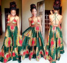 Dashiki dress Women dress women prom by FashionForSpecialMen
