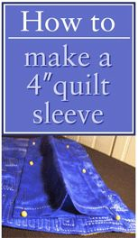 How to Hang A Quilt on a Wall | How to hang, As and Videos : how to make a quilt sleeve - Adamdwight.com