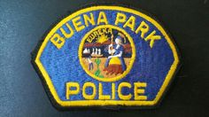 Buena Park Police Patch, Orange County, California (Vintage 3rd Issue)